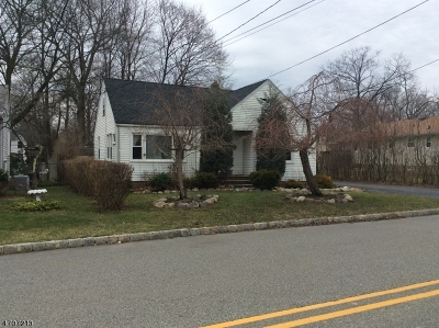 Parsippany Single Family Home For Sale: 65 Kingston Rd