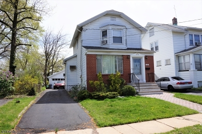 Maplewood Twp. Single Family Home For Sale: 183 Hilton Ave