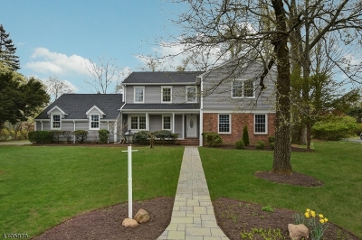 Florham Park Boro Single Family Home Active Under Contract: 16 Vultee Dr