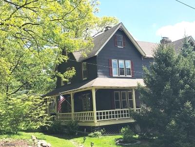 Millburn Twp. NJ Single Family Home For Sale: $998,000