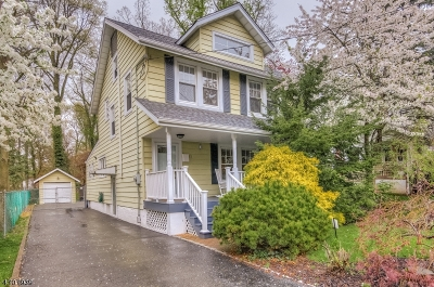 Livingston Twp. Single Family Home For Sale: 12 Lincoln Ave