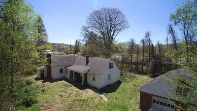 WATCHUNG Single Family Home For Sale: 59 Brookdale Rd