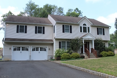 Berkeley Heights Twp. Single Family Home For Sale: 25 Orion Rd