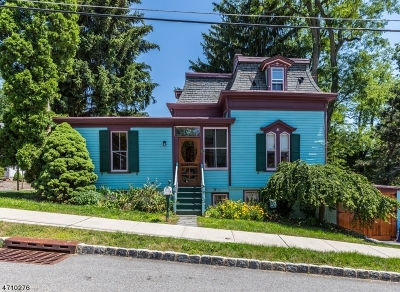 Morris Twp. Single Family Home Active Under Contract: 9 Locust St