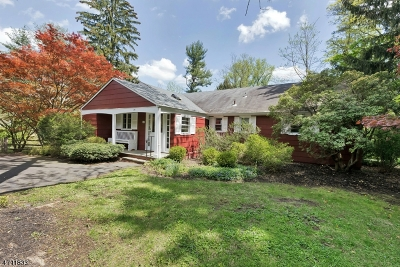 Bernardsville Boro Single Family Home For Sale: 30 Hull Rd