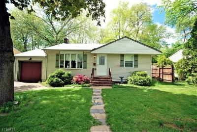 Scotch Plains Twp. Single Family Home Active Under Contract: 1607 Saint Ann St