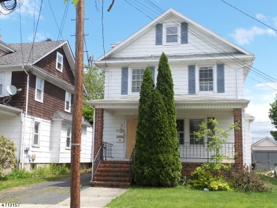 Manville Boro NJ Multi Family Home Under Contract: $98,000