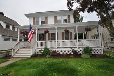 Morris Plains Boro Single Family Home For Sale: 22 Franklin Pl