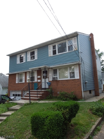 Rahway City Multi Family Home For Sale: 266 Waite Ave