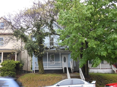 South Orange Village Twp. Single Family Home For Sale: 178 Valley St