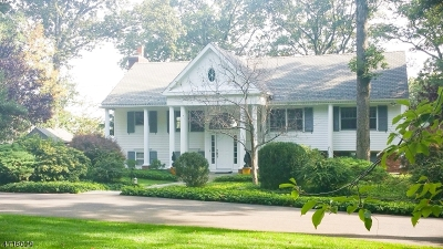 Bridgewater Twp. Single Family Home Active Under Contract: 72 Hillcrest Rd
