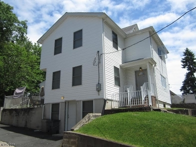 Passaic City Single Family Home For Sale: 24 Tennyson Pl