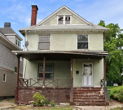 Perth Amboy City Single Family Home For Sale: 135 Kearny Ave