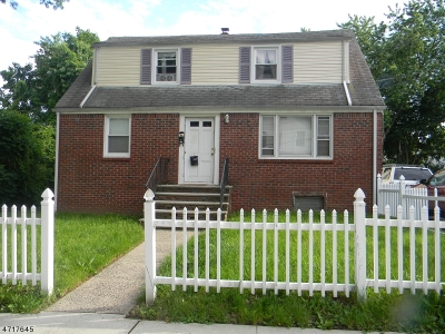 West Orange Twp. Multi Family Home For Sale: 18 Nutman Pl