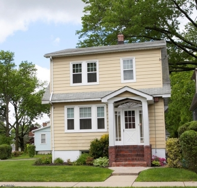 Maplewood Twp. Single Family Home For Sale: 63 Wellesley St