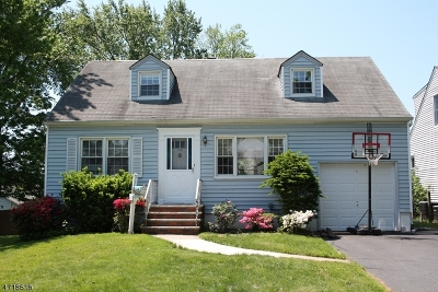 Cranford Twp. Single Family Home For Sale: 216 Scherrer St