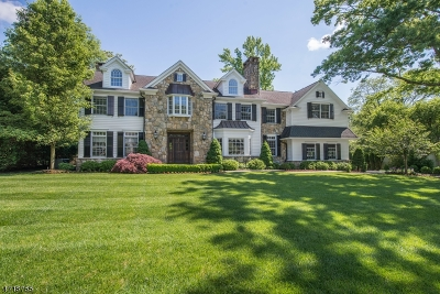 Chatham Twp. Single Family Home For Sale: 7 Country Club Dr