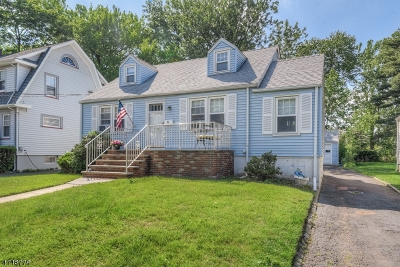 Cranford Twp. Single Family Home For Sale: 10 Retford Ave