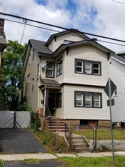 Multi Family Home For Sale: 143 Weequahic Ave