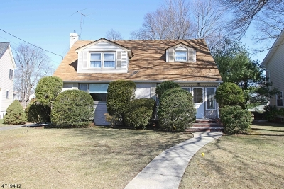 Cranford Twp. Single Family Home For Sale: 198 Elizabeth Ave