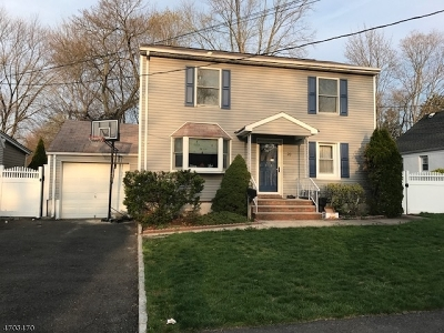 Cranford Twp. Single Family Home For Sale: 20 Ramapo Rd