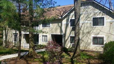 Morris Plains Boro Condo/Townhouse For Sale: 6f Foxwood Dr