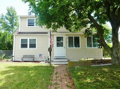 Edison Twp. Single Family Home For Sale: 37 Bradley Dr