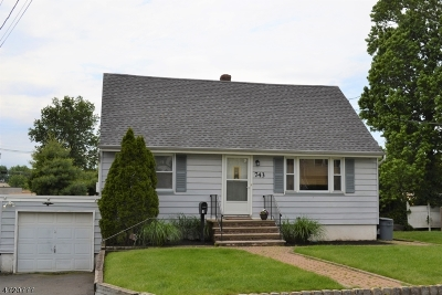 Kenilworth Boro Single Family Home For Sale: 743 Woodland Ave