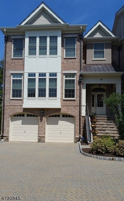 Morris Twp. Condo/Townhouse For Sale: 6 Howland Ter