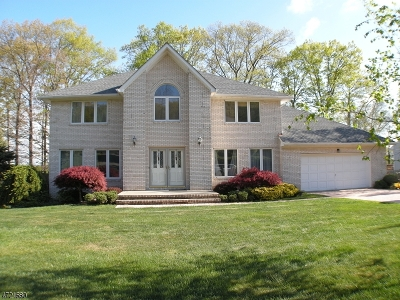 Parsippany-Troy Hills Twp. Single Family Home For Sale: 29 Continental Road