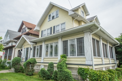 Passaic City Single Family Home For Sale: 257 Van Houten Ave