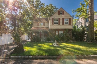 Roselle Park Boro Single Family Home For Sale: 9 Rhoda Ter