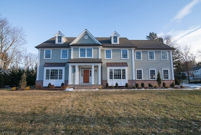 Chatham Twp. Single Family Home For Sale: 4 Westminster Rd