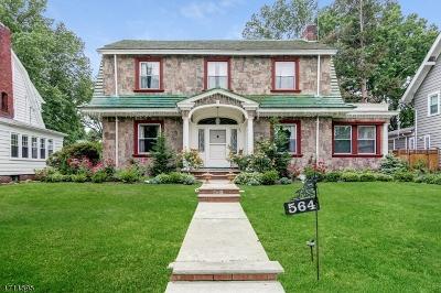 South Orange Village Twp. Single Family Home For Sale: 564 Sinclair Terrace