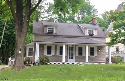 Mendham Boro NJ Single Family Home Sale Pending: $469,000