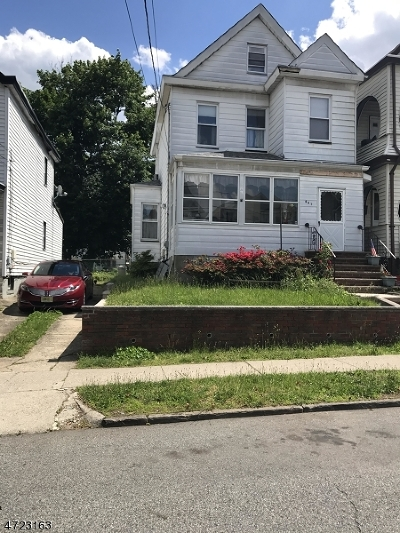 Passaic City Single Family Home For Sale: 401 Highland Ave