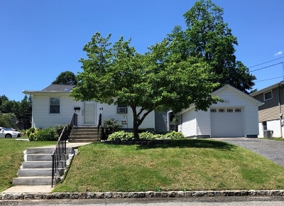 Parsippany Single Family Home For Sale: 15 Hoffman Ave