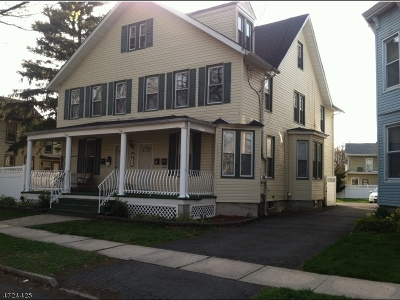Rahway City Multi Family Home For Sale: 968 Jaques Ave