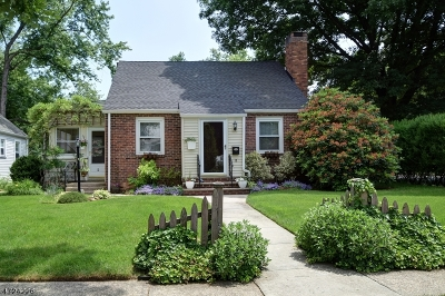 Cranford Twp. Single Family Home For Sale: 2 Behnert Pl
