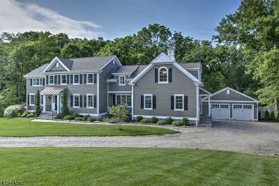 Peapack Gladstone Boro NJ Single Family Home Active Under Contract: $999,999