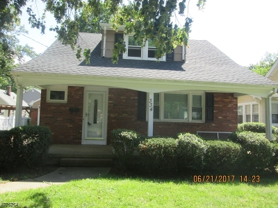 Scotch Plains Twp. Single Family Home For Sale: 334 Westfield Rd