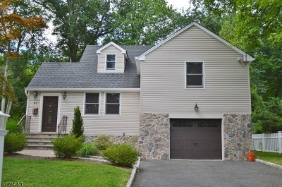 Florham Park Boro Single Family Home For Sale: 83 Beechwood Rd
