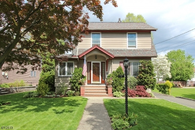 Cranford Twp. Single Family Home For Sale: 21 Bloomingdale Ave
