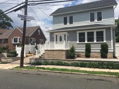 Hillside Twp. Single Family Home For Sale: 515 Harvard Ave