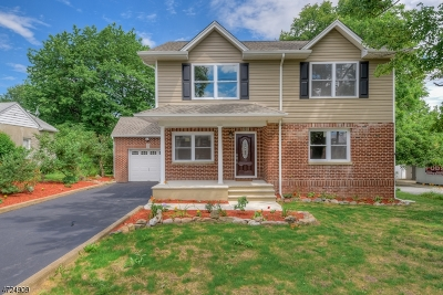 Parsippany-Troy Hills Twp. Single Family Home For Sale: 464 Vail Rd