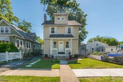Roselle Boro Single Family Home For Sale: 125 Hillcrest Ter