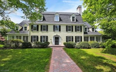 Plainfield City Single Family Home For Sale: 996 Hillside Avenue