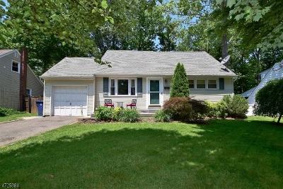 Fanwood Boro Single Family Home For Sale: 61 Waldon Rd