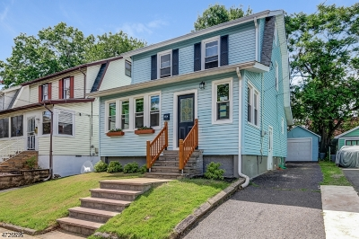 Maplewood Twp. Single Family Home For Sale: 35 Hughes St