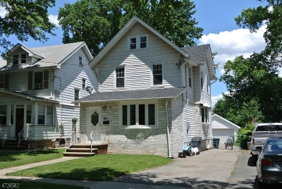 ROSELLE PARK Single Family Home For Sale: 139 Union Rd